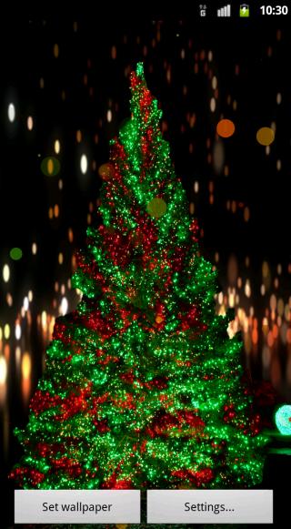 Christmas Light Live Wallpaper