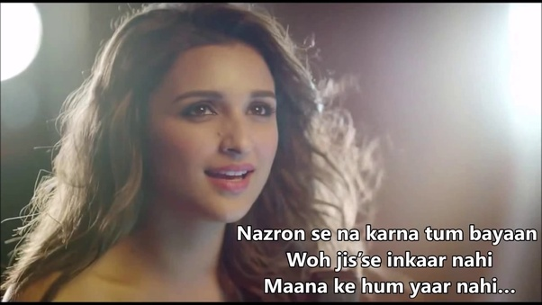 What are some of the best bollywood song lyrics? - Quora