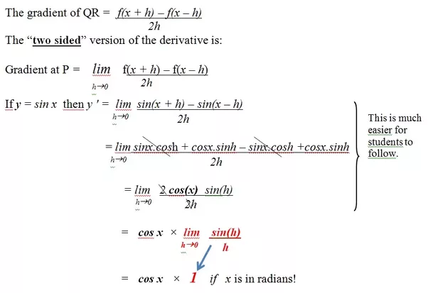 What Is The Derivative Of Sinx By First Principle Quora