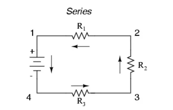 how to identify whether resistors are in parallel or series connection easily