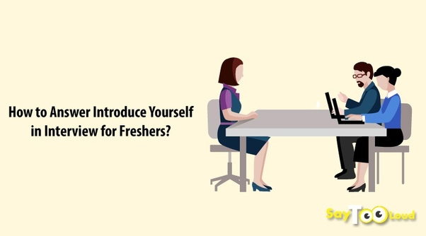 As a fresher how can I introduce myself for a job interview? - Quora
