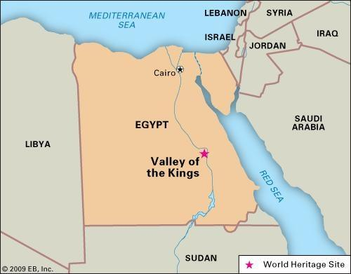 Were ancient egyptians overwhelmingly middle eastern in origin quora this is where the 18th dynasties kings and queens were born and buried the valley of the kings is a world heritage site gumiabroncs Gallery