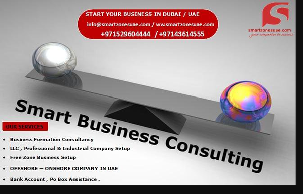 Which company is the best consultant for a business setup in the UAE