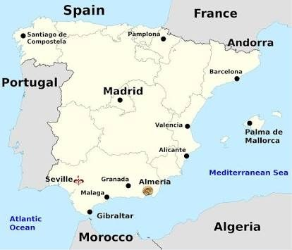 Which countries border Spain? - Quora