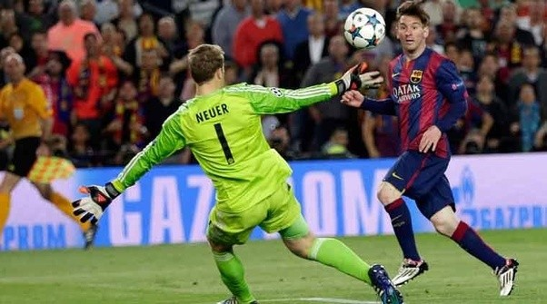 Image result for messi neuer