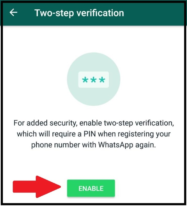 What is the use of WhatsApp two steps verification? - Quora
