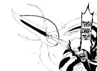 Towards The End Of This Fight Ichigos Bankai Is Shown To Disintegrate And Reveal His Original Zangetsu Shikai Sword Which He Had Attained During Soul