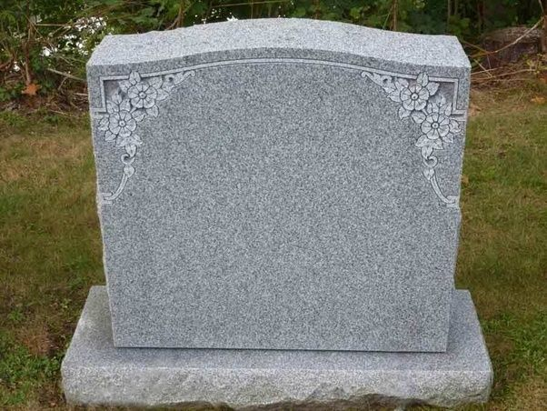 Granite Headstones Grave : What is the difference between a gravestone and