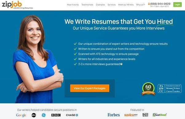 Top resume writing companies