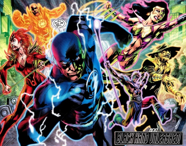 If each member of the Justice League were to be a Lantern