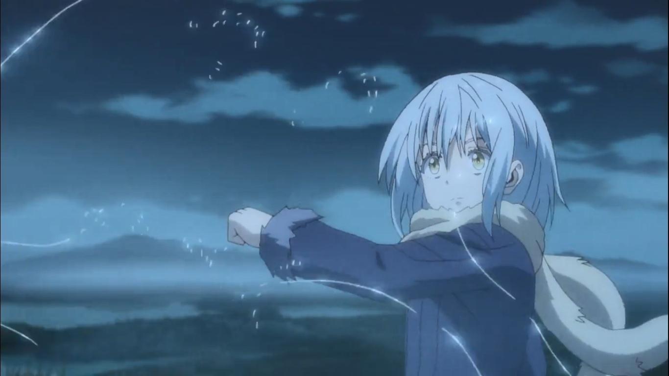 sentuhan hangat Rimuru