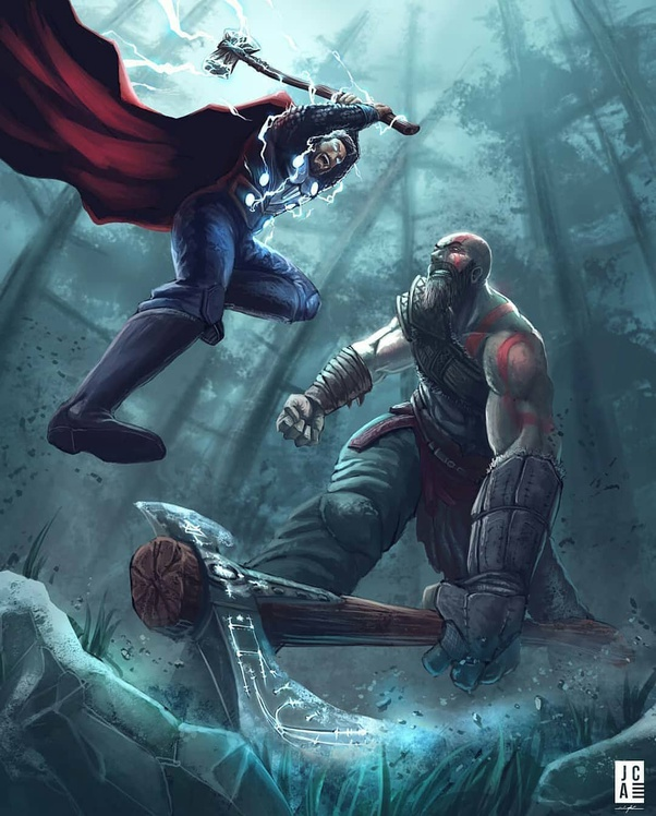 Who Would Win Kratos God Of War Vs 2018 Iw Thor Quora
