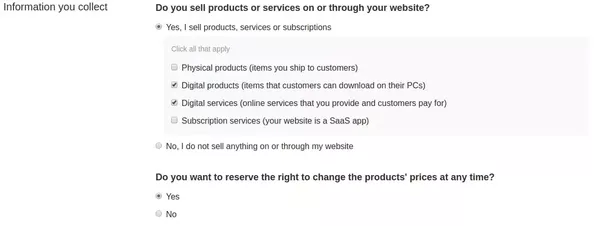 Which Service Do You Use On Your Website To Keep Your Privacy Policy - Saas privacy policy template