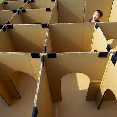 If You Just Moved To A New Place Or Happened Get Delivery Of Large Appliances Can Make Cardboard Maze That Will Entertain The Kids For Hours And