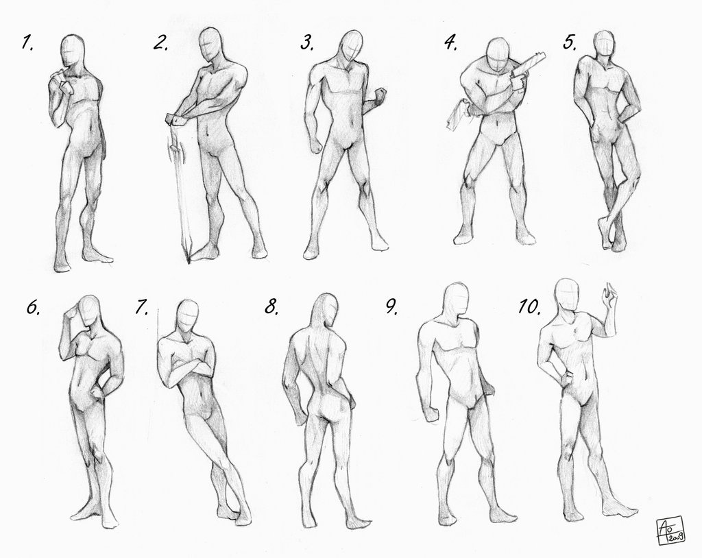 What Is The Best Way To Practice Drawing Anatomy I Draw Anime Manga