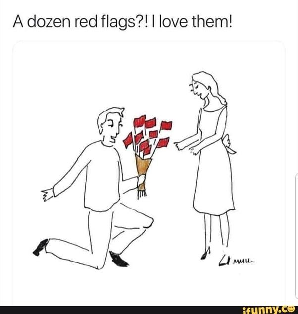 In warning red relationships flag 57 Major