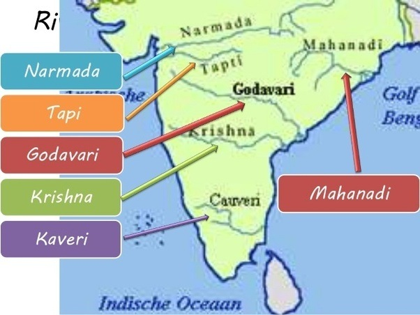 What Are The Major River Systems In India Quora - What are the major rivers