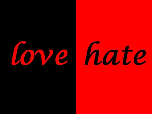 Is it easier to love than hate? - Quora