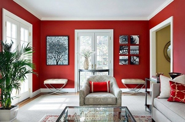 Painting Your Walls Is One Way To Vamp Up Your Living Room. You Can Paint  All Of Them, Or Just An Accent Wall. Either Way, Adding In A New Color, ...