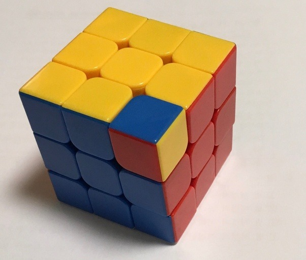 how to twist the corners of a rubix cube quora