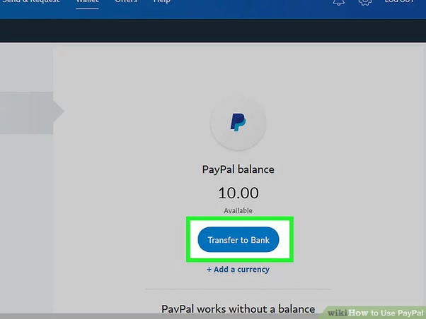 Can a paycheck be deposited directly into a PayPal account