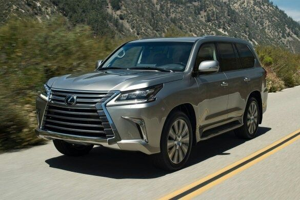 If Toyota Wants To Produce A Luxury Version Of Land Cruiser, They Let Lexus  Do The Job. And Lexus Makes This: