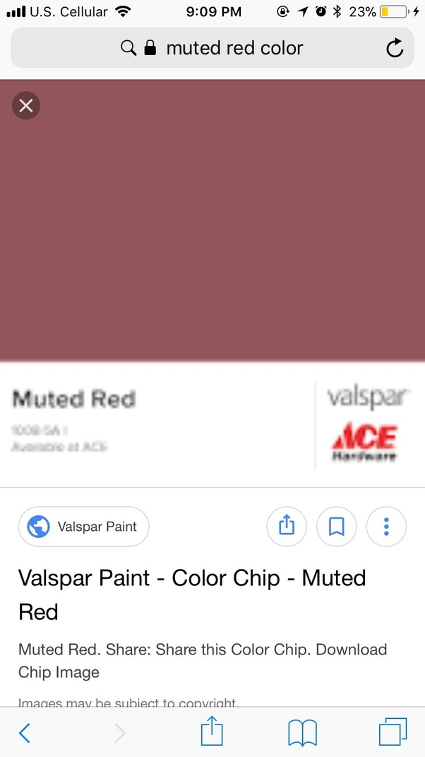 This Really Depends On The Proportions You Have It D Probably Make A Muted Red Color Like These