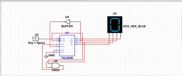 Can Ic 7490 Act As Mod 7 Counter Quora