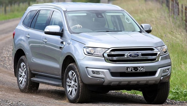 Ford In Australia Has A Different Vehicle To Fill Its Midsize Suv Niche Now The Ranger Based Everest  Ford Everest  Seater Family Suv Ford