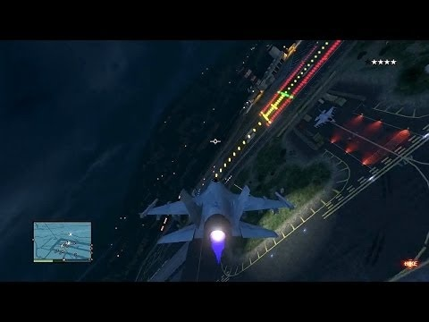 In GTA 5, what is the P-996, the fighter jet laser, similar