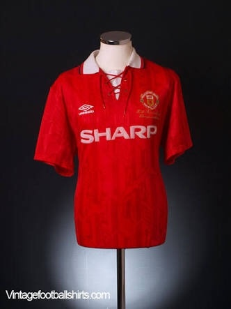new concept 5eedd 7c651 What's the best Manchester United Jersey of all time? - Quora