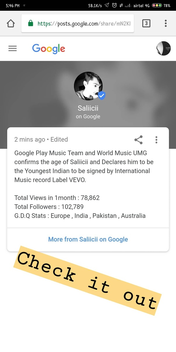 Who is India's youngest Vevo artist? - Quora