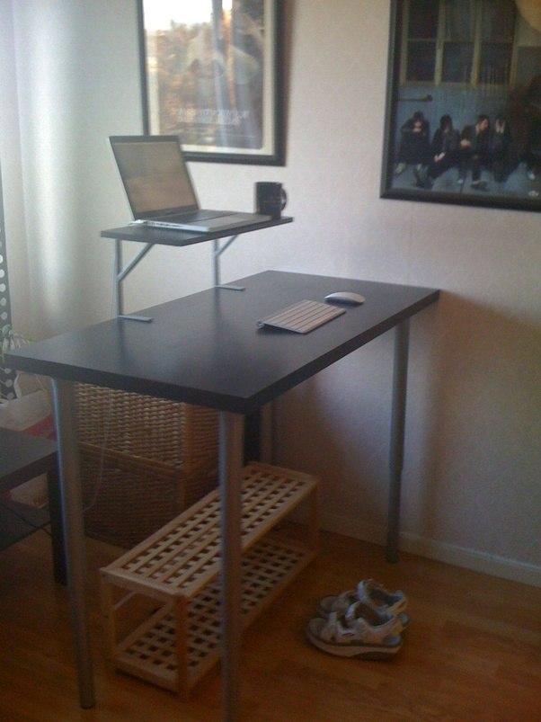 how to build a standing desk quora. Black Bedroom Furniture Sets. Home Design Ideas