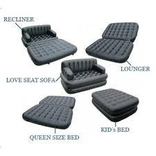 How Good Is An Inflatable Portable 5 In 1 Sofa Recliner