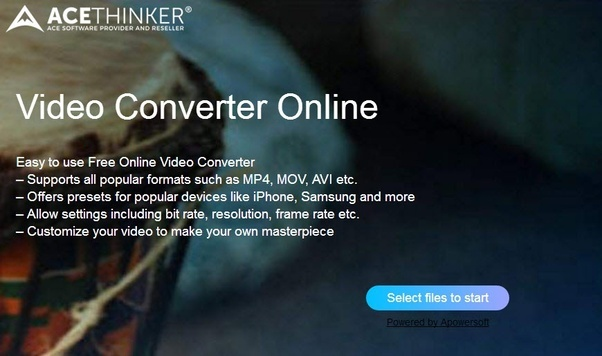 Is it possible to convert an mkv video available online to 3gp launch your web browser and go to acethinker online video converter httpsacethinkeronline co stopboris Images
