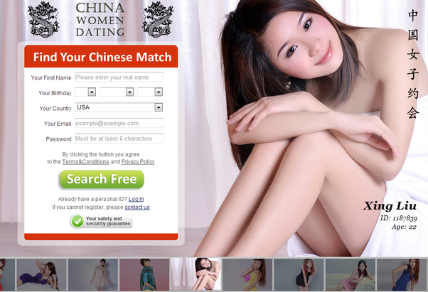 China women dating ads