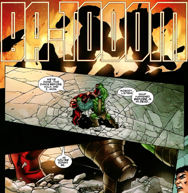 Could Commander Steel stand his ground against The Hulk? - Quora