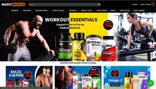 on whey protein official website india