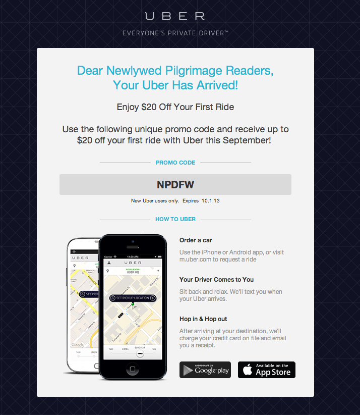 Where can you get Uber coupon codes that you can use if you