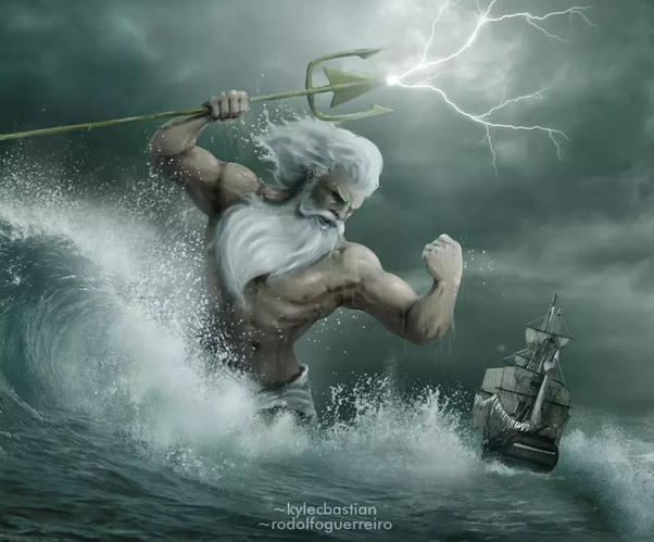 Why Is Poseidon Depicted As Evil What Are The Evil Things