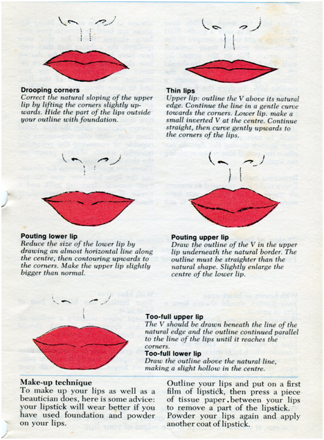 How to keep your top lip thin, small, and dark/black while