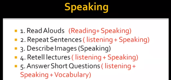 What is the most scoring part in Pte speaking? - Quora