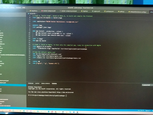 How to reduce the size of a Docker Node js application image