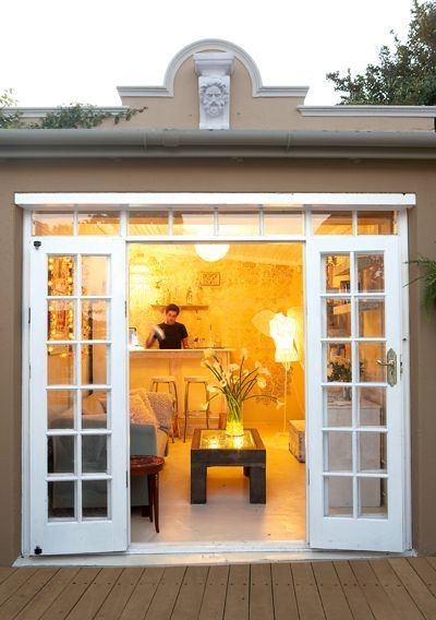 What Are Some Ways To Replace Garage Doors With French Doors ...