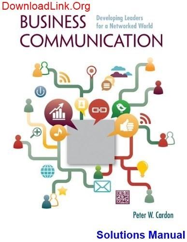 Lesikars Business Communication 12th Edition Pdf