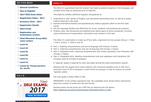 How to pass DELE C1 which will take place in May if I start
