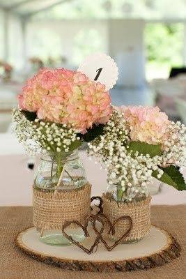 What are some mason jar centerpiece ideas for weddings? - Quora
