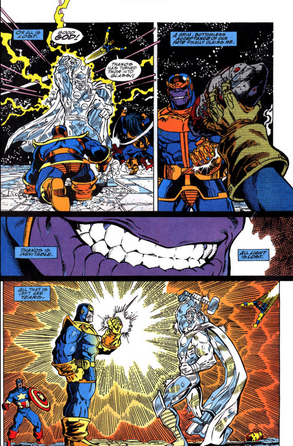 If Ultra Instinct Goku Vs Thanos Who Would Win Quora