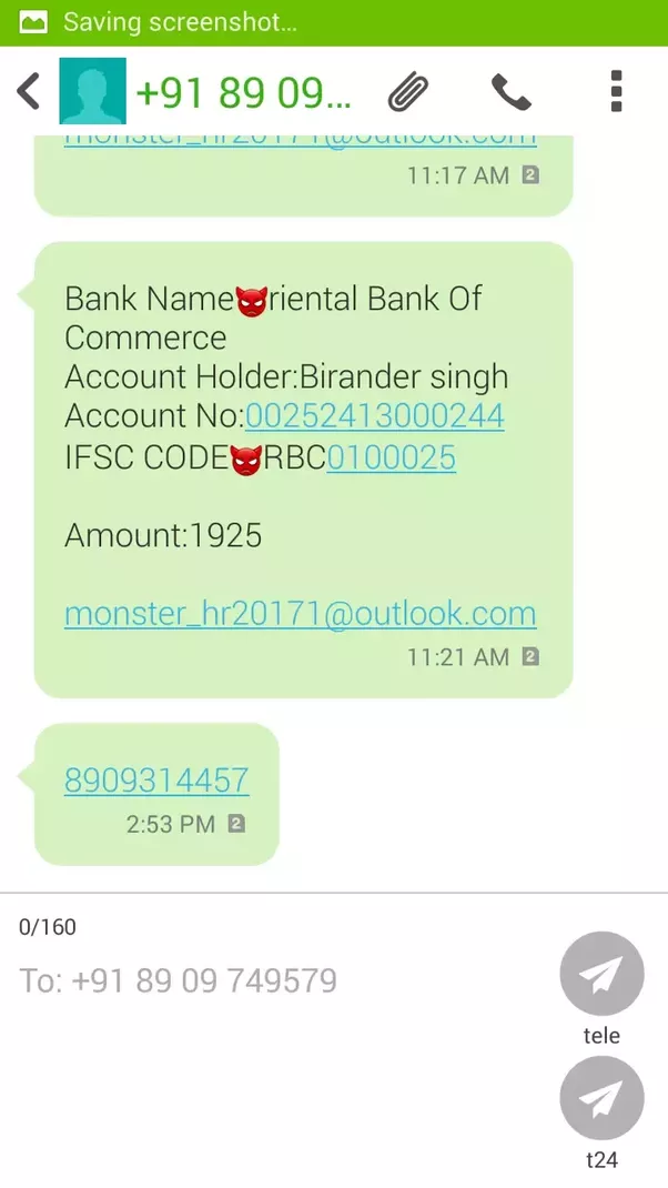 Beaver Of All This Fake Number And Be Safe U2026as Graduate And Fresher I Know  What All The Sequence And Situation A Fresher Face U2026 But Finally There Is  No Easy ...