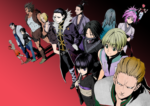 What exactly is the Phantom Troupe in HxH? Are they so dangerous? - Quora